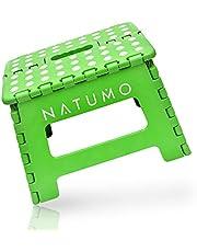 NATUMO® Składany stołek kuchenny o wysokości 22 cm – składany stołek kuchenny, stołek łazienkowy, składany, podnóżek dziecięcy, pomoc przy wchodzeniu, umywalka dla dzieci i dorosłych
