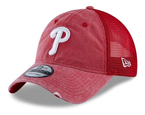 New Era Philadelphia Phillies MLB 9Twenty Tonal Washed 2 Adjustable Meshback ()