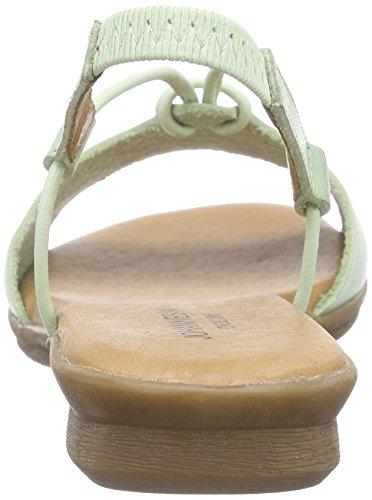Johannes W. Wesisa - Sandalias de Talón Abierto Mujer Verde - Grün (mint)
