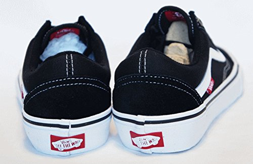 Adulto Black U Unisex Zapatillas white Skool Vans Old wBgHXZXq
