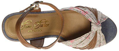 Tom Tailor 2790801 - Tira de tobillo Mujer Braun (Mud)