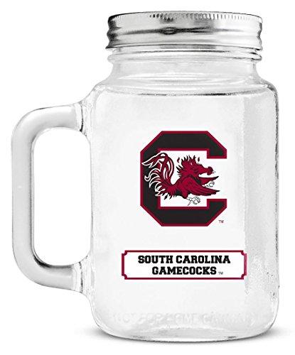 NCAA South Carolina Gamecocks Mason Jar, - Carolina South Malls Outlet