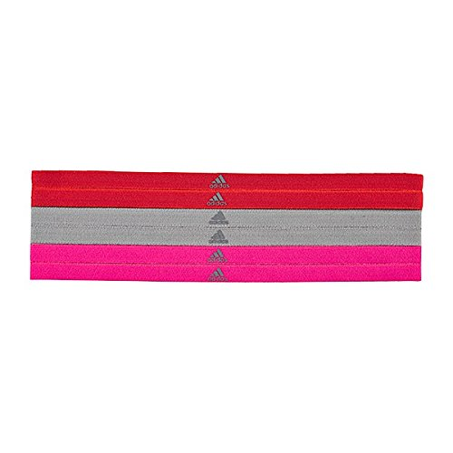 Adidas Run Sportbands - Cinta para el Pelo para Mujer, Color Rojo, Talla OSFM AX8819_OSFM