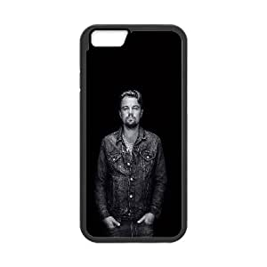 iPhone 6 4.7 Inch Cell Phone Case Black ha76 23 leo dicaprio film face F1F3QR