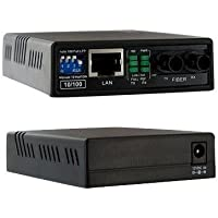 Startech.Com 10/100 Fiber To Ethernet Media Converter Multi Mode St 2 Km Prod. Type: Networking/Media Converters Standalone