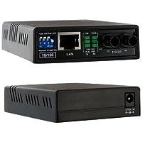 Startech.Com 10/100 Fiber To Ethernet Media Converter Multi Mode St 2 Km Prod. Type: Networking/Media Converters Standalone