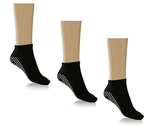 Multipack of Non Slip Yoga Socks for Women and Girls for Yoga,pilates, Pure Barre, Hospital, labor and more