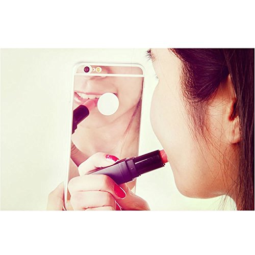 Effet Pour Plus silicone Sycode Mince argent Housse Miroir Plus Plus Miroir Iphone Coque noir ultra 8 Plus Doux 7 En 6zpq5z1