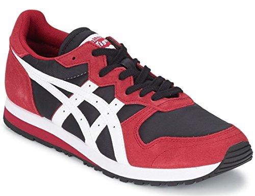 Onitsuka Tiger OC Runner Rosso Bianco Nero Pelle Uomo Sneaker Scarpe Stivali