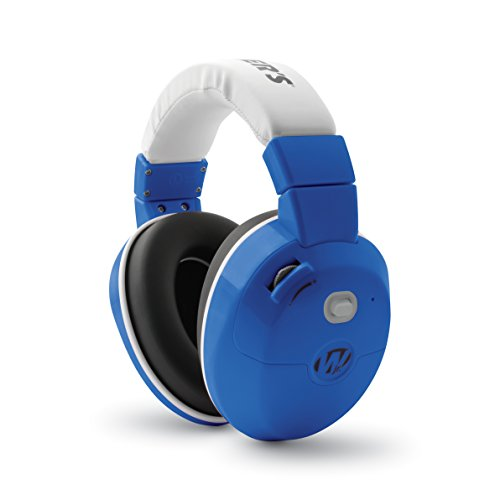 Walker's Game Ear Youth Electronic Muff, Royal Blue
