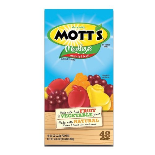 Motts Medleys Assorted Fruit Snacks 48ct Box (Pack of 2) by Medleys Fruit Snacks by Medleys Fruit Snacks (Image #1)