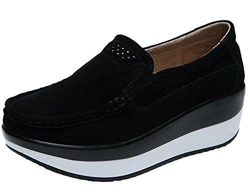 兵器庫しょっぱい関連付けるWUIWUIYU ウォーキングシューズ レディース スニーカー 厚底靴 美脚 軽量 歩くやすい 履き心地抜群 通勤靴