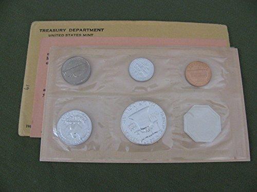 1961 US Proof Set 5-Coin Silver Proof Set PR US Mint ()