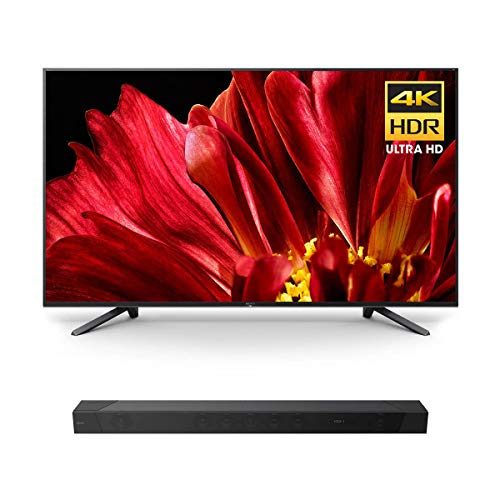 "Sony XBR-65Z9F 65"" Master Series BRAVIA 4K HDR UHD TV with HT-ST5000 7.1.2ch 800W Dolby Atmos Sound Bar"