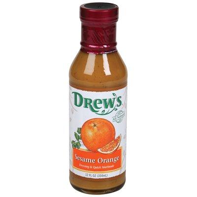 orange sesame dressing - 1