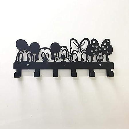Paquete Individual Gancho Autoadhesivo Gancho De Pared Lindo De Dibujos Animados Modelo /Único De Disney Gancho Adhesivo Fuerte En La Pared Sin Perforaciones