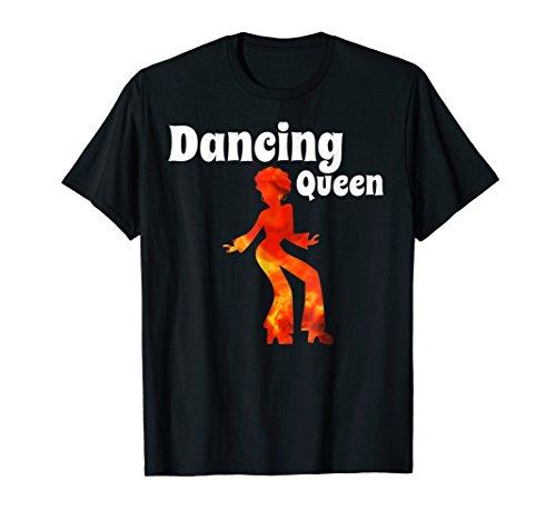 Dancing Queen dancing Princess Disco 70s 60s shirt