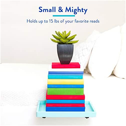 BedShelfie Essential Bedside Shelf with Cupholder for Bed and Bunk Bed Shelf 4 Colors / 5 Styles The Original As Seen On…