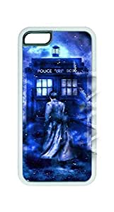 Lmf DIY phone caseHipster Custom Doctor Who Case For iphone 5c Case Cover Hard Shell Tardis White Case - AArt (DH504)Lmf DIY phone case