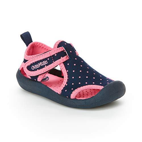 OshKosh B'Gosh Aquatic Girl's and Boy's Water Shoe, Navy, 11 M US Toddler