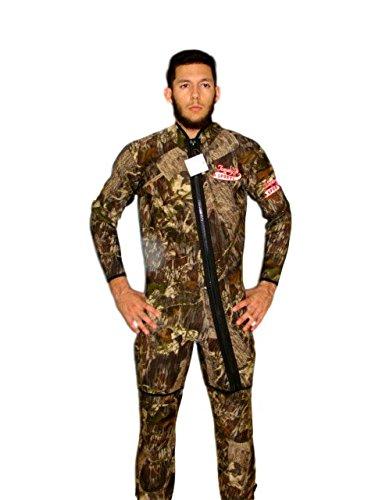 TommyD Sports 2 Piece Camo Farmer John 3mm Wet Suit Size 2X Item -
