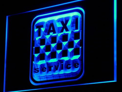 ADVPRO Cartel Luminoso i976-b Taxi Service Cab Display Lure ...