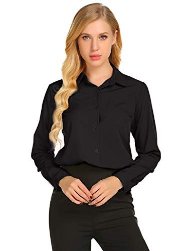 Zeagoo Womens Sleeve Casual Button product image