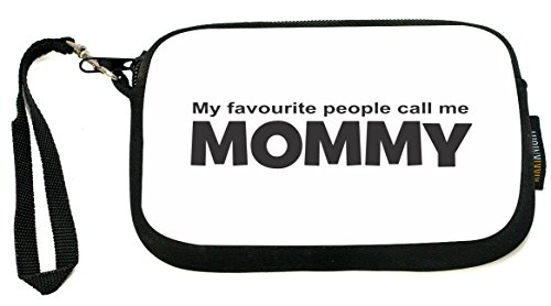 ukbk-my-favourite-people-call-me-mommy-black-design-neoprene-clutch-wristlet-with-safety-closure-ide