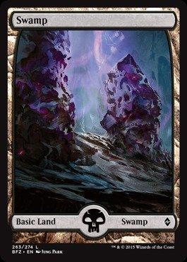 Magic: the Gathering - Swamp (263/274) - Battle for Zendikar - Foil ()