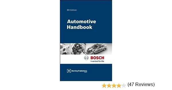 bosch automotive handbook 7th edition pdf