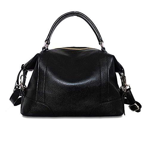 Simple Bag Invierno Negro De Fashion Hombro Tote Ywx Señoras Moda Atmósfera Mujer color La Negro Las Bolso Messenger Para 51w8vZT