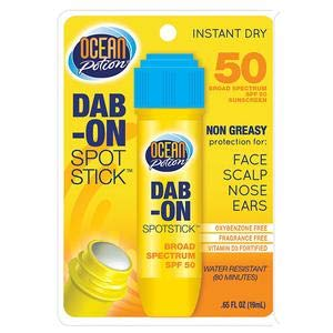 Ocean Potion Suncare Dab-On Sport Stick, SPF 50 0.65 oz (Pack of - Ocean Potion Suncare