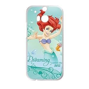 DAZHAHUI The Little Mermaid Phone Case for HTC One M8 case