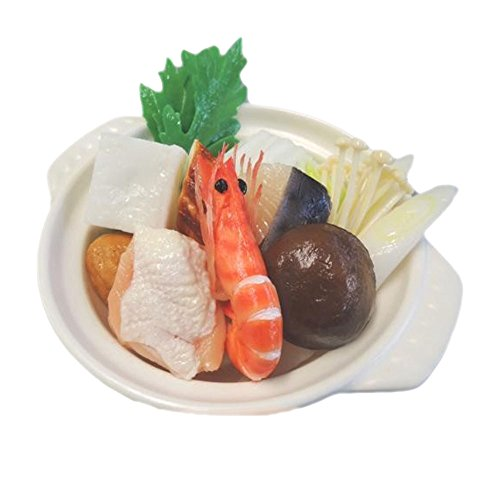 ComolifeJapanese Super Real Looking Fake Food 'Japanese Pot' , Size : 7.60 x 6.43 x 3.31 Inch by Comolife