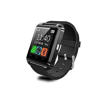 Reloj Conectado U8 Plus para iPhone y Smartphones Android, Color Negro: Amazon.es: Electrónica