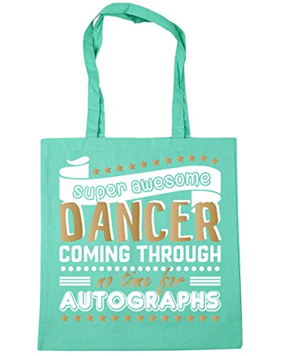 42cm x38cm Awesome For Dancing Autographs Gym Time 10 Bag Dancer Shopping No Mint Through Coming Super HippoWarehouse Beach Tote litres Zq1wanB