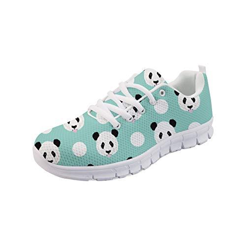 Polka Informales H597AQ6 para Coloranimal Dots Panda Mujer ColoranimalK gq1ZxYzA