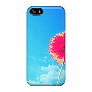 DVnAwNv844hLJFq Case Cover Pink Gerbera Flower Iphone 5/5s Protective Case