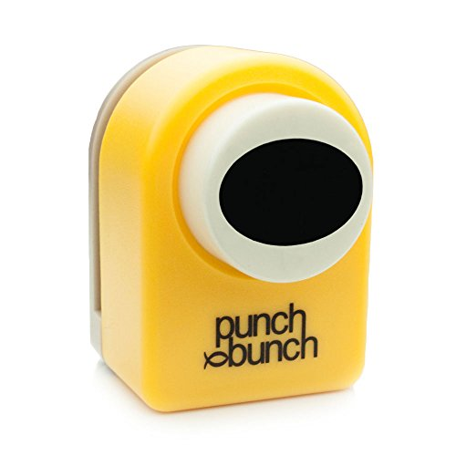 Punch Bunch Medium Punch, Oval, 24mm (Craft Punch Stamp)