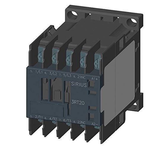Siemens–Contacteur AC37,5kW 1NC courant continu 24V s00Anneau 5kW 1NC courant continu 24V s00Anneau 3RT2018-4BB42