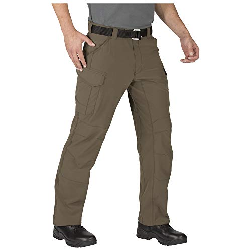 5.11 Men's Traverse 2.0 Lightweight Water-Repellent Tactical Stretch Pant, Tundra, 30W x 36L