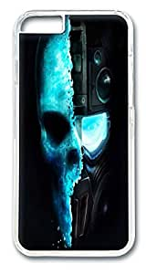 VUTTOO Cool Skull Sniper Lovely Milk Bottles Funny Lovely Polycarbonate Hard Case Cover for iphone 6 plus 5.5inch Transparent