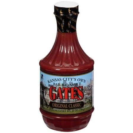 Original Classic Bar-B-Q Sauce, 28 Oz- Gates
