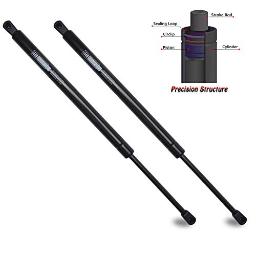 Beneges 2PCs Liftgate Lift Supports Compatible with 2005-2013 Nissan Pathfinder Rear Hatch Tailgate Gas Charged Springs Struts Shocks Dampers 6110, SG325023 ()