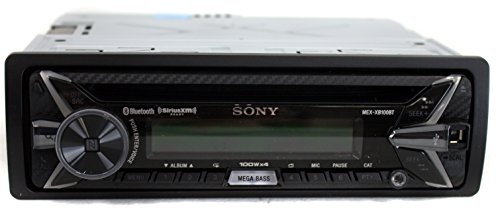 Sony MEX-XB100BT Single DIN Hi-Power Bluetooth in-Dash CD/AM/FM/SiriusXM Ready Car Stereo with 160W...