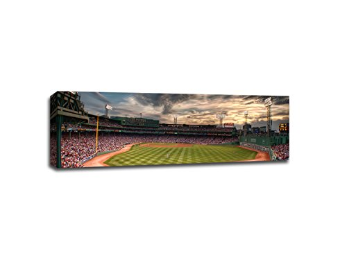 - Fenway Park at Sunset MLB Canvas 48x16