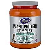 Now Sports Nutrition, Plant Protein Complex Powder, Chocolate Mocha, 2-Pound