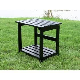 Cedar Side Table, Black
