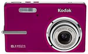 Kodak Easyshare M893IS 8.1 MP Digital Camera with 3xOptical Image Stabilized Zoom (Red)