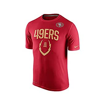 Men's Nike San Francisco 49ers 15 Legend Icon Tee Shirt 49ers Gym Red Size XX-Large